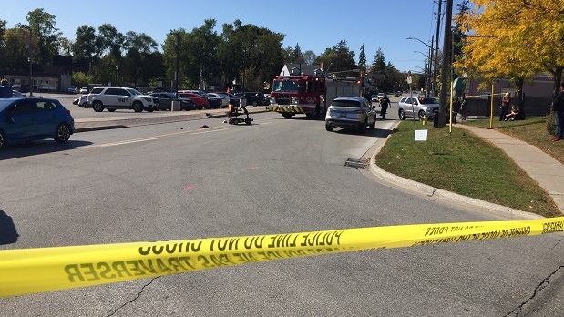 Barrie scooter crash