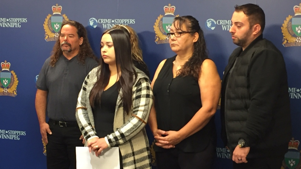 Miranda Belle's family makes a public plea for answers in her disappearance. (Gary Robson/CTV News)