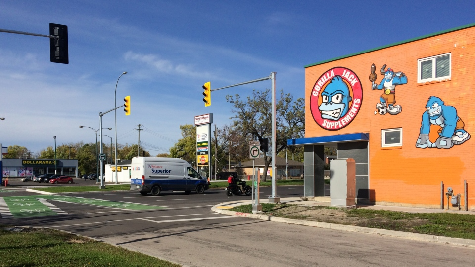 Winnipeg business launches parcel safe drop