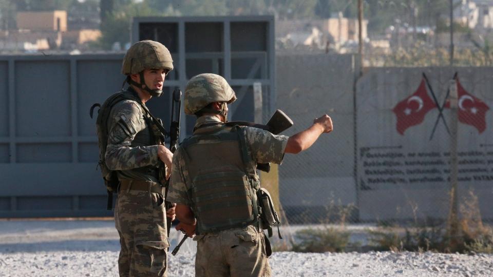 Syria-Turkey border