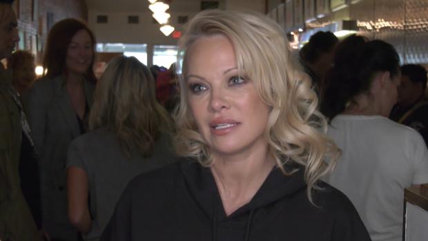 Pamela Anderson in Vancouver