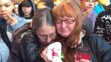Mother of slain teen