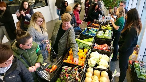 Fresh Routes market at Clairview Rec Centre