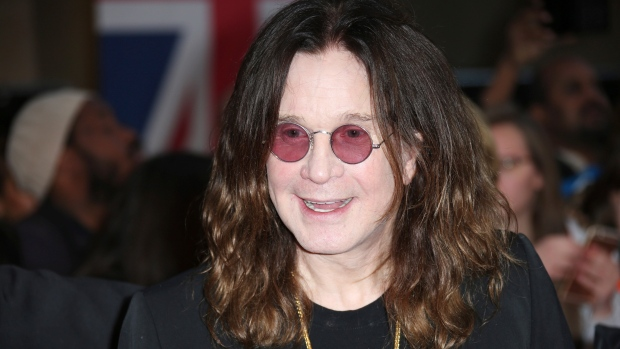 In this Sept. 28, 2015 file photo, Ozzy Osbourne arrives at the Pride of Britain Awards 2015 in London. (Photo by Joel Ryan/Invision/AP, File)