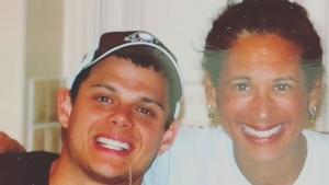 Lynn Keane and her son