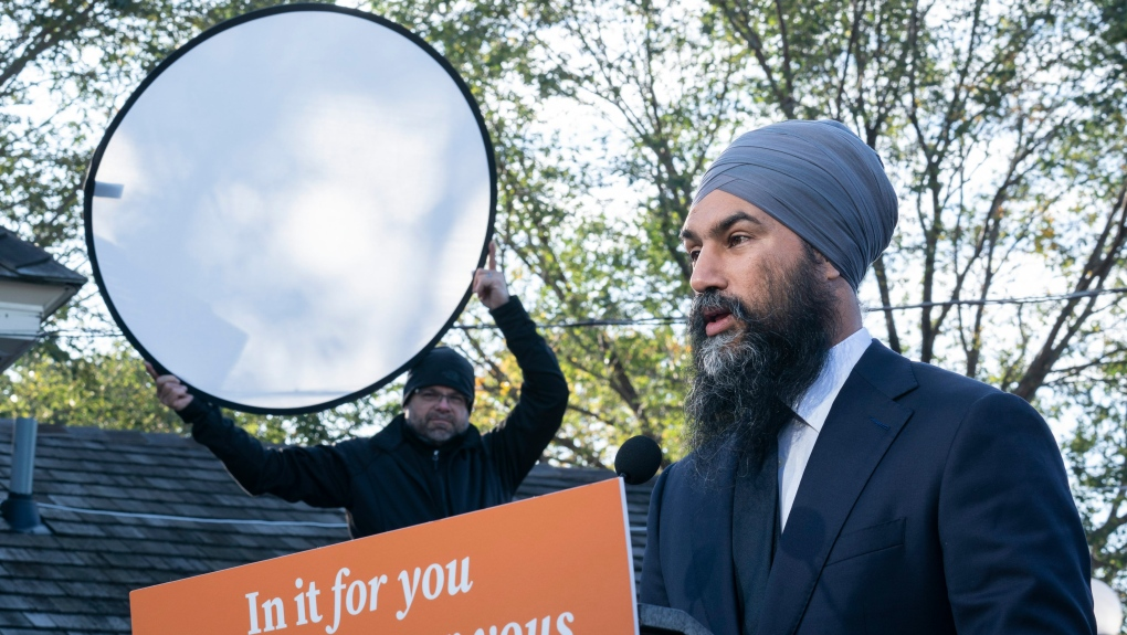 Singh lays out conditions for NDP support in Parliament after Oct. 21 vote