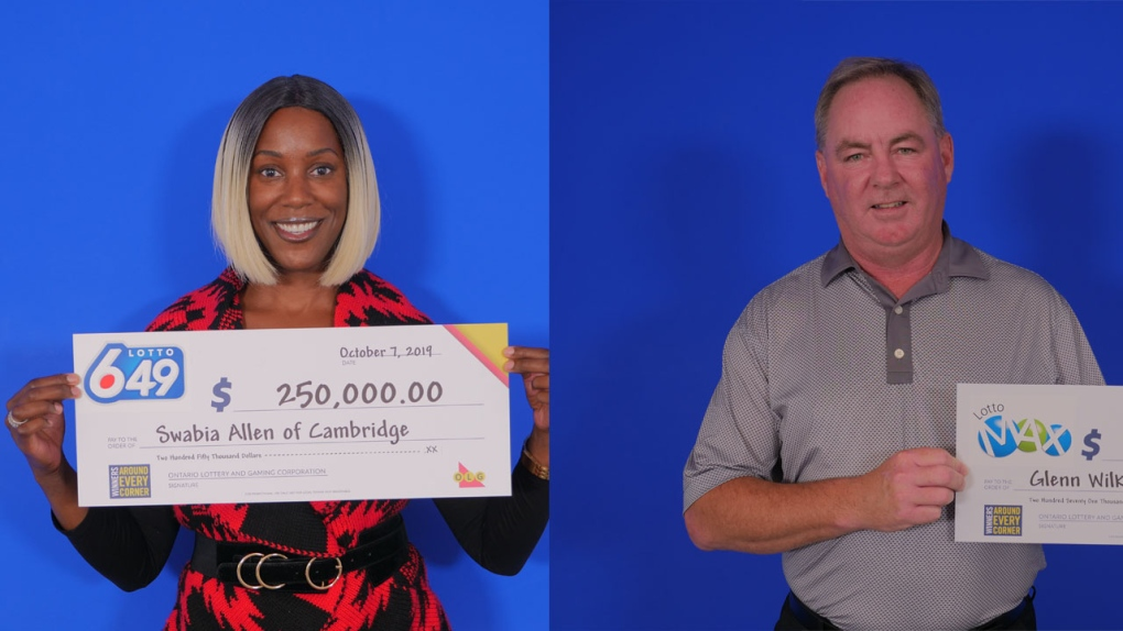 Big lotto wins for Cambridge and Kitchener residents