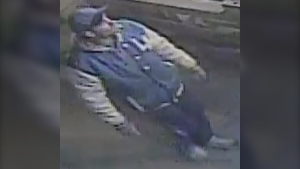 Police say this man is one of two suspects in an arson that was committed Sept. 11. (Photo: Montreal police)