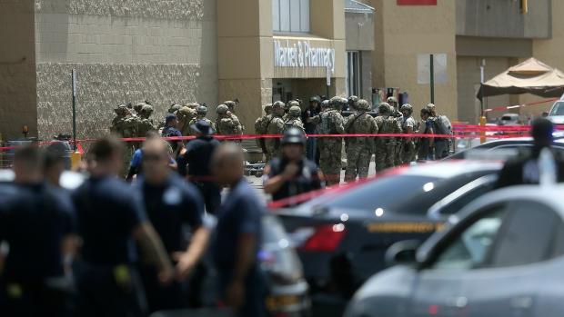several law enforcement agencies