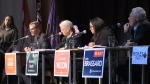Students put federal candidates in the hot seat