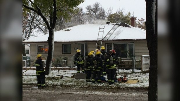 Downed power lines cause two fires