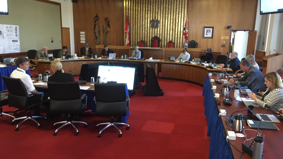 Victoria city council discusses increasing spending for Canada Day celebrations during a council meeting: Oct. 10, 2019 (CTV News)