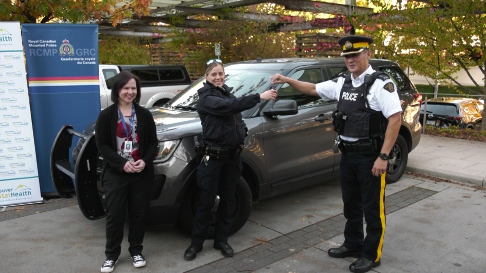Police and nurses will be responding to mental health calls in Richmond, B.C. together in what's being called a Mental Health Car.