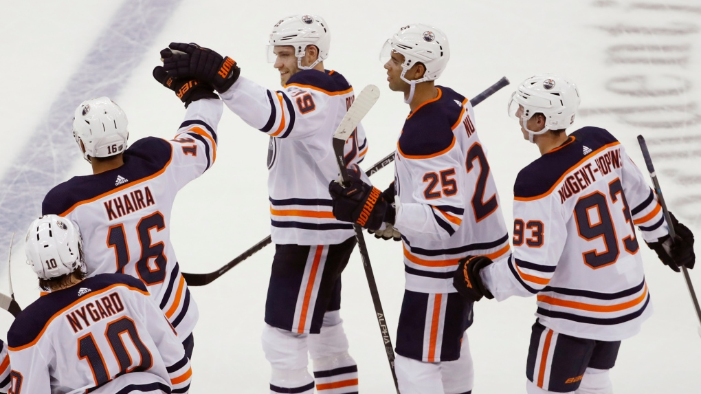 Oilers keep it rolling on the road in a shootout with the Devils