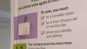 Advance polls for the 2019 Federal Election will be open Friday, Oct. 11 through Monday, Oct. 14