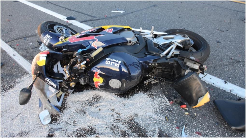 Police identify 23-year-old killed in in three-vehicle QEW crash