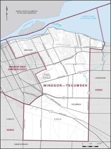 Windsor-Tecumseh riding