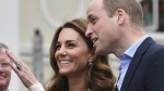 Prince William and Kate in Greenwich, London, on May 7, 2019. (Ben Stansal / Pool via AP)