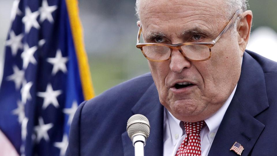 Rudy Giuliani in 2018