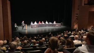 Red Deer candidates running in the federal election held a public forum on Thursday, Oct. 10, 2019. (CTV News Edmonton)