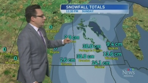Snow sneaks into Sask.