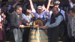 Tapping the first keg at Oktoberfest 2019 in downtown Kitchener. (Oct. 22, 2019)