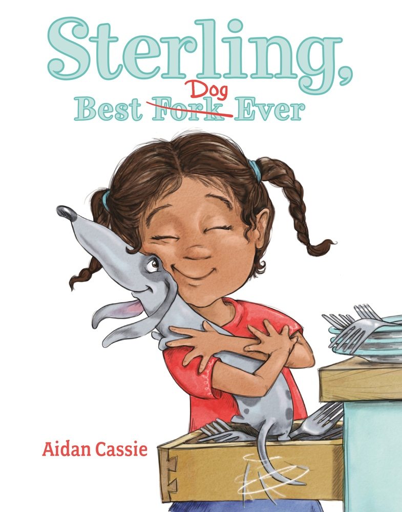 The cover of Aidan Cassie's children's book, Sterling, Best Dog Ever (CTV News)