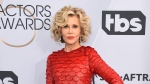 This Jan. 27, 2019 file photo shows Jane Fonda at the 25th annual Screen Actors Guild Awards in Los Angeles. (Photo by Jordan Strauss/Invision/AP, File)