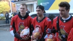 Sens give thanks at the Ottawa Mission