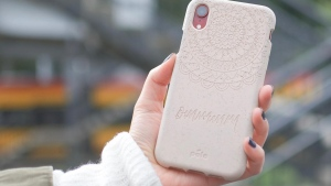 One of Pela's compostable phone cases. (Pela)