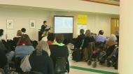 Blackstock speaks about child welfare