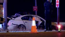 Bassano crash scene