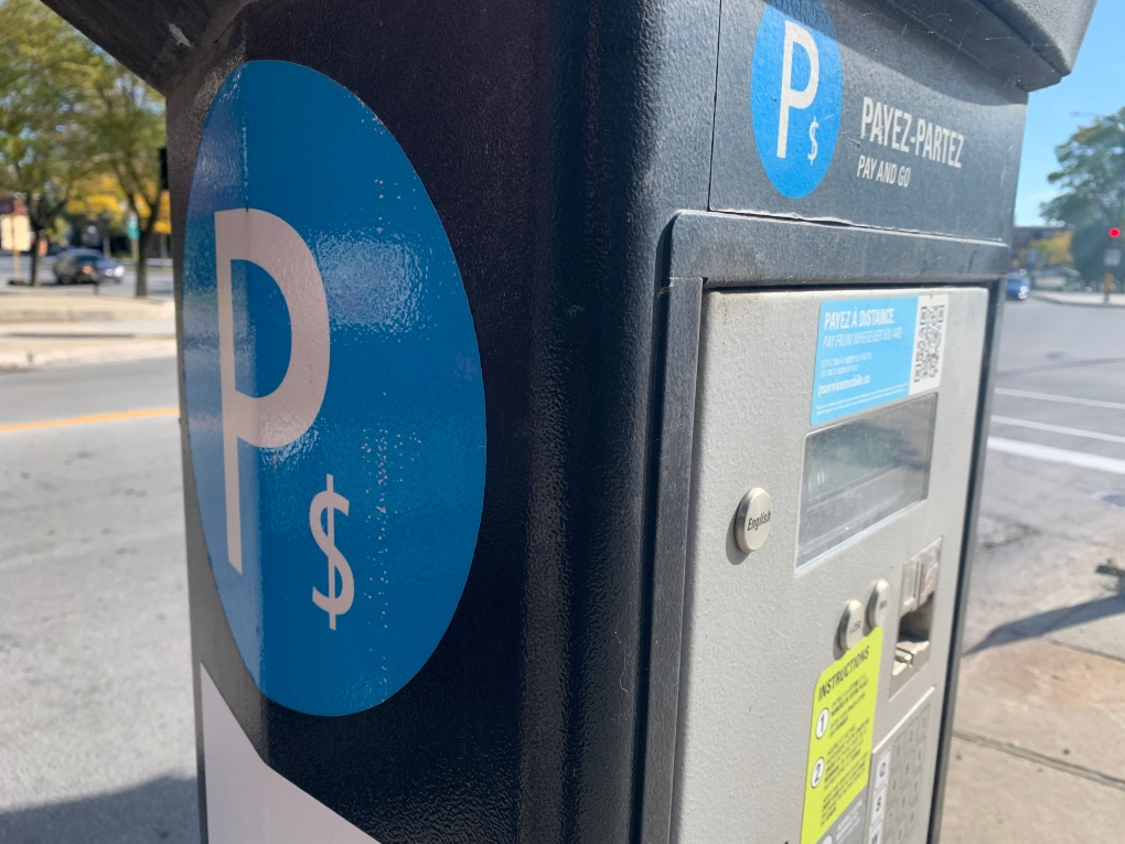 Montreal parking metres are getting a facelift