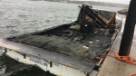 Representatives from the Membertou First Nation say they believe an overnight fire to a fishing boat belonging to the community was caused by an act of vandalism.
