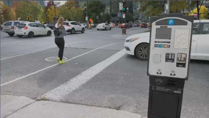 Montreal's new parking meters