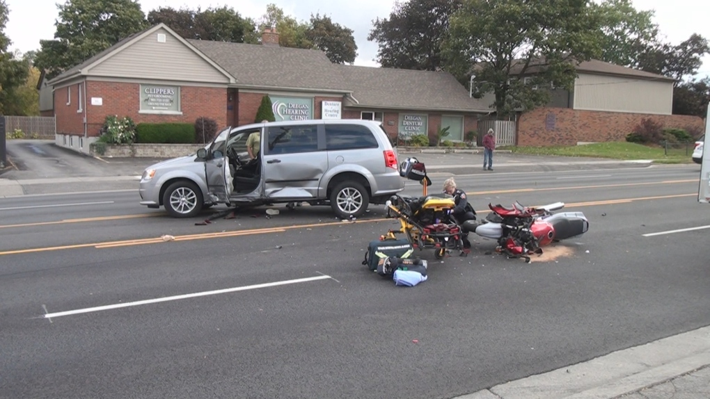 Motorcyclist dies in hospital after collision in Oshawa