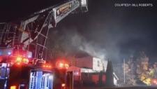 Kentville fire