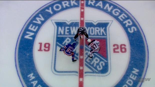 Oilers vs. Rangers Oct. 12