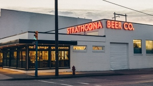 Strathcona Beer Company on Hastings Streets announced in a Facebook post earlier this week that it plans to permanently stop filling growlers early next year. (Strathcona Beer Company)