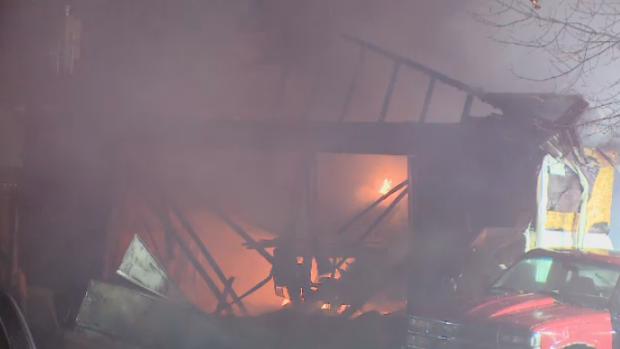 Garage Explosion Regina