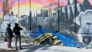 CTV Montreal: Historic mural restored