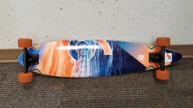 Skateboard recovered in Nanaimo