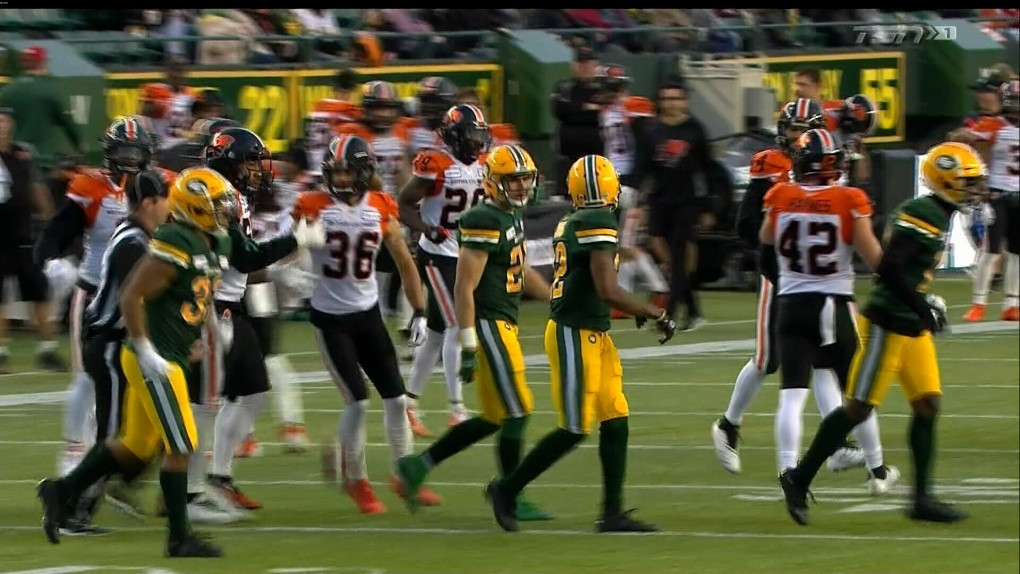 Cooper leads Eskimos to 19-6 win over Lions and final berth in CFL playoffs