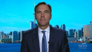 Liberal candidate Bill Morneau