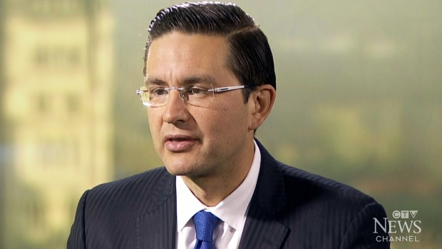 Conservative candidate Pierre Poilievre