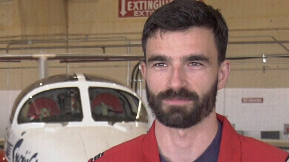 CTV News Vancouver Island interviewed Domon-Grenier earlier this year while he was on Vancouver Island for the aerobatics team's annual training over the Comox Valley.