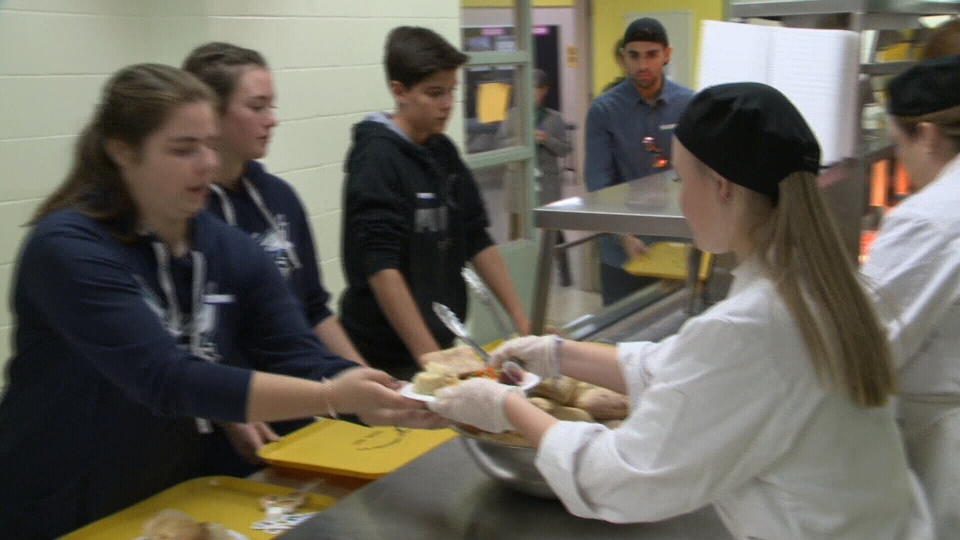Students served more than 800 meals in Nepean October 13, 2019.