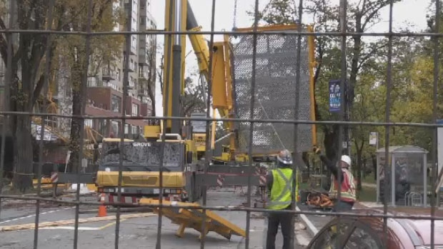 Removal of collapsed crane underway in Halifax