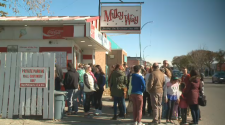 Lots of customers came out for a final sweet treat at the Milky Way's last open day of the 2019 season.