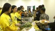 'Kids on Track' hosts Thanksgiving dinner